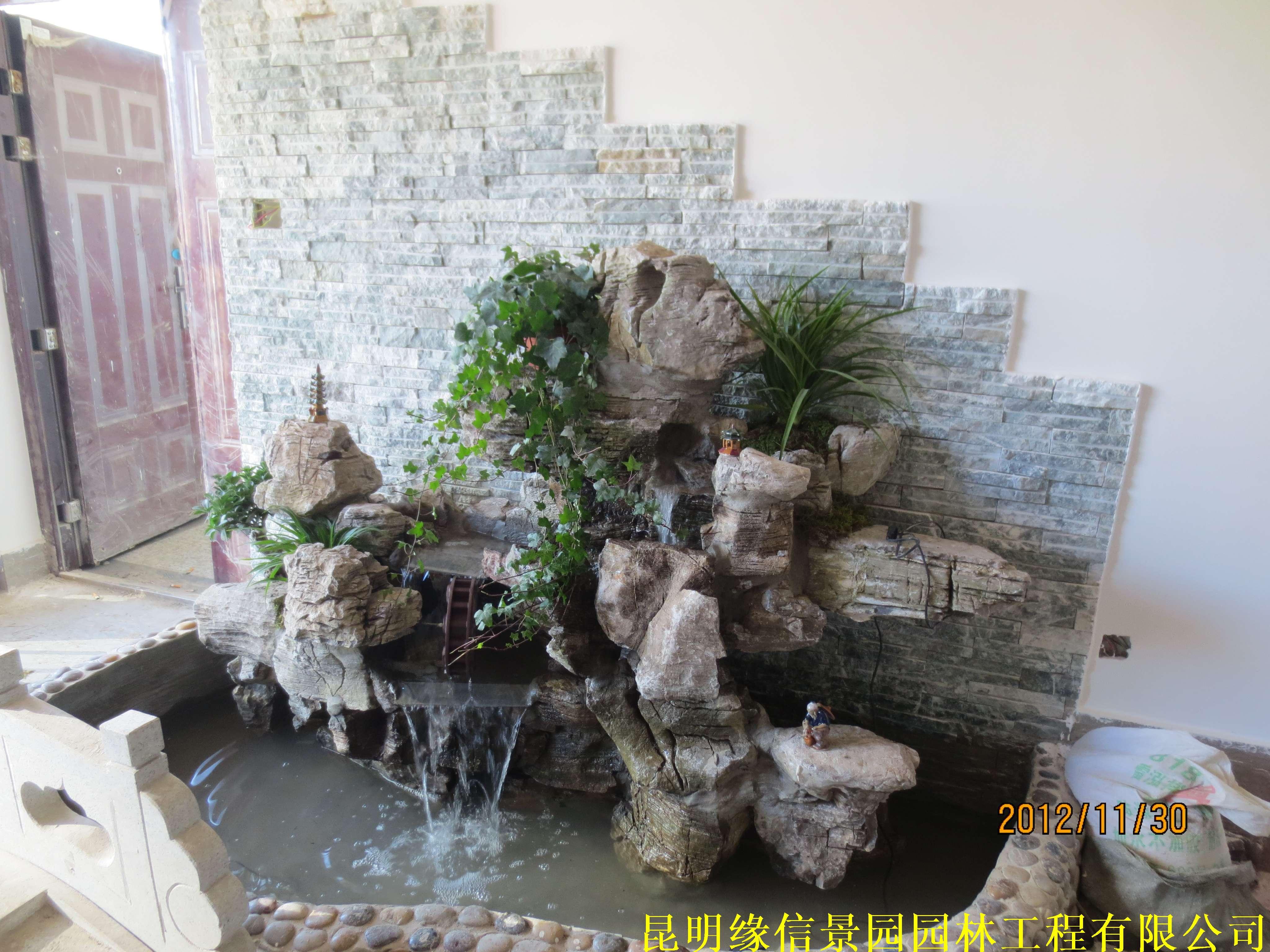 景观设计 - 屋顶花园,云南别墅花园